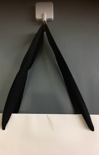 紙袋 持ち手 アクリル平紐