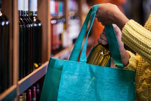 オリジナルワインバッグ 不織布 制作