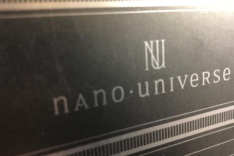 オリジナルショッパー ナノユニバース