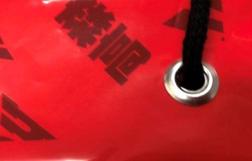 ビニール袋 ショルダーバッグ