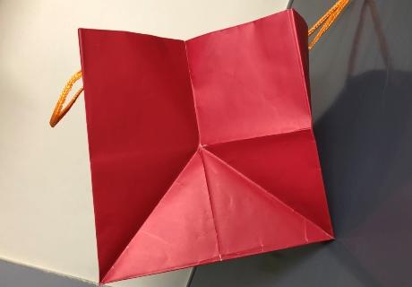 マチ広紙袋①