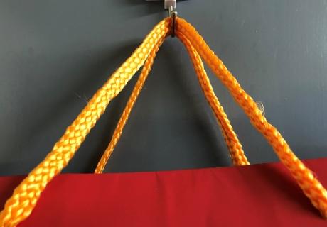 マチ広紙袋 紐