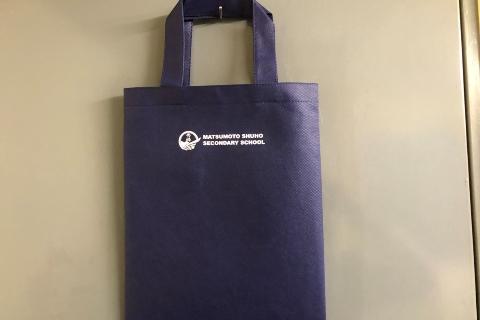 学校オリジナルバッグ 制作